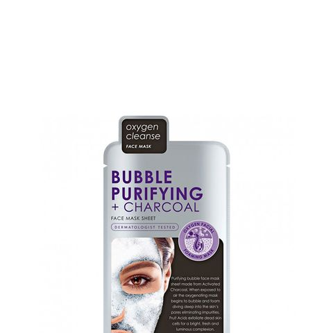 Bubble Purifying + Charcoal Face Mask Sheet