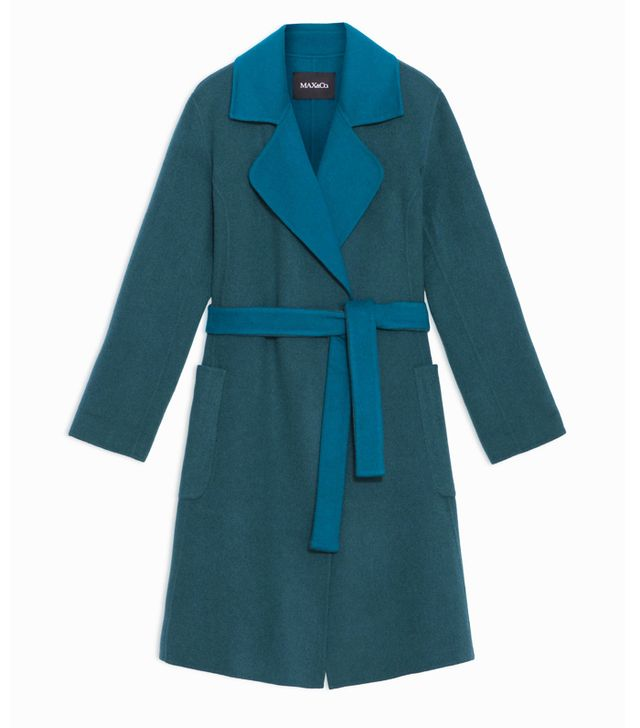Max & Co Reversible Two-Tone Coat