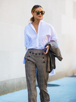 Olivia Palermo Just Wore the Perfect Topshop Jumper—and It's Still in Stock