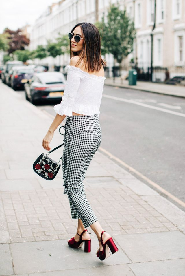 On Soraya Bakhtiar: Zara trousers and top.