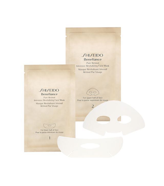 Benefiance WrinkleResist24 Pure Retinol Express Smoothing Eye Mask 12 Packettes x 2 Sheets