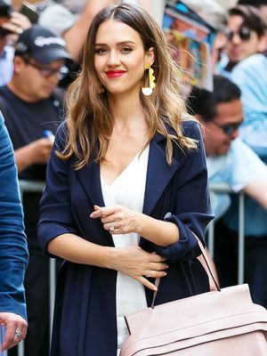 The Sneakers Jessica Alba Is Wearing All Around NYC