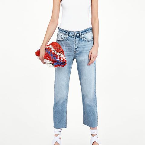 Straight Leg Hi-Rise Jeans