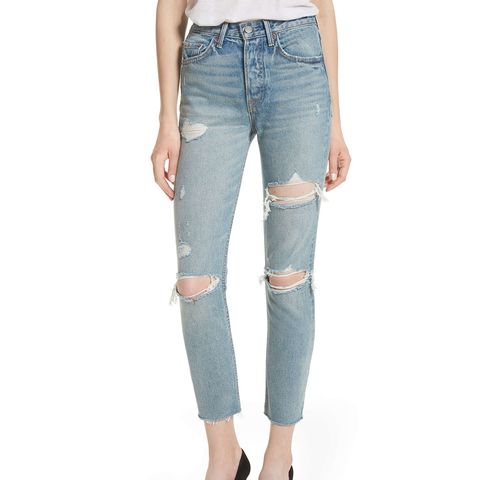 Karolina Rigid High Waist Skinny Jeans