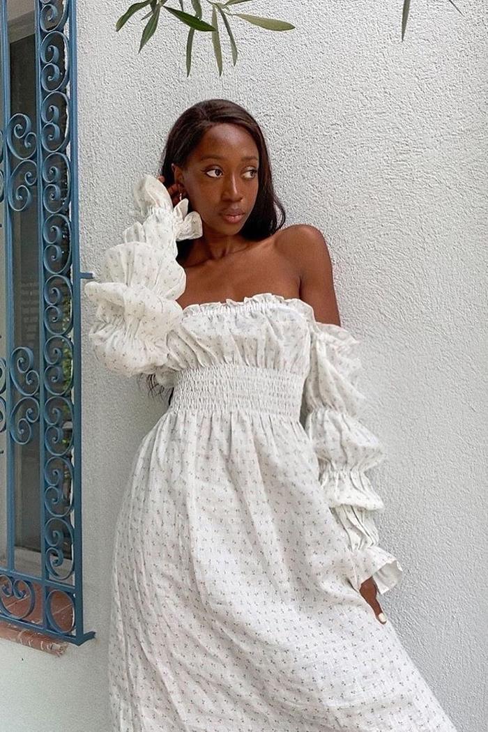 trendy off the shoulder dresses