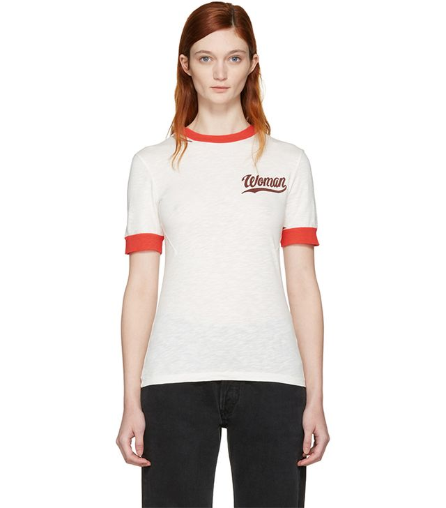 Off-White Off-White Thanks Ripped T-Shirt