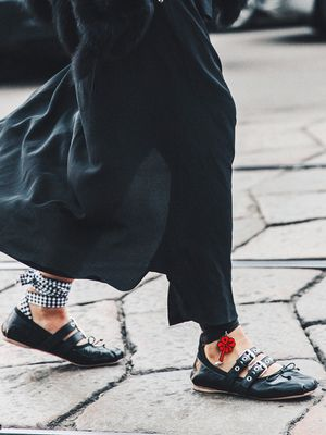 This Is Zara's Summer Answer to Ballerina Flats