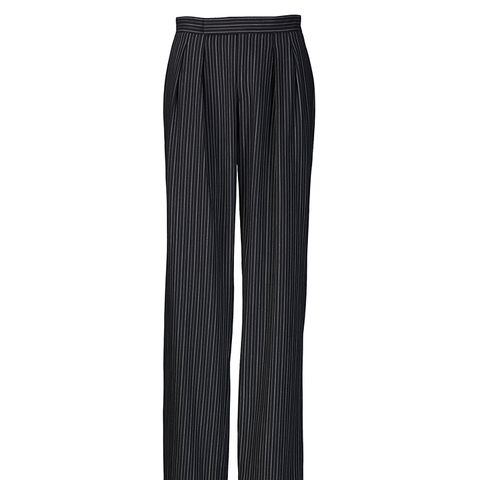 Harrison Pinstriped Wool Pant