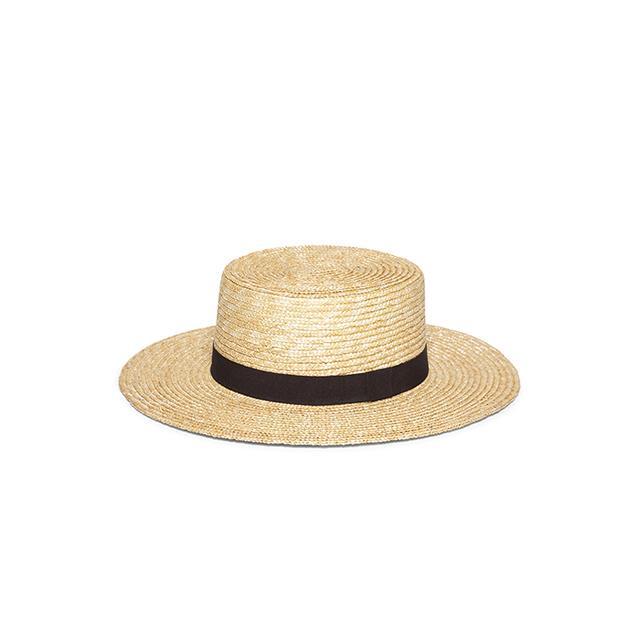 Hat Attack Baruska Boater