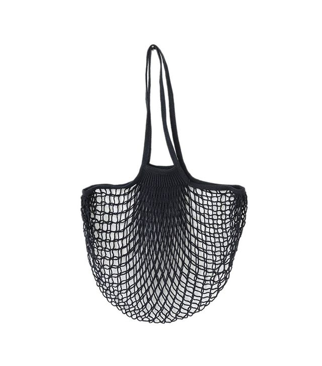 The Fine Store Net Bag with Long Handles