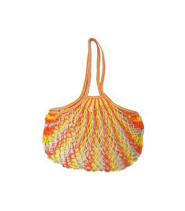 Honeycomb at Home Filt Large Net Bags With Shoulder Straps in Multicolor