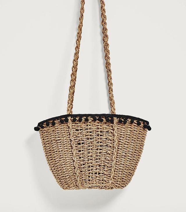 Zara Pompom Basket