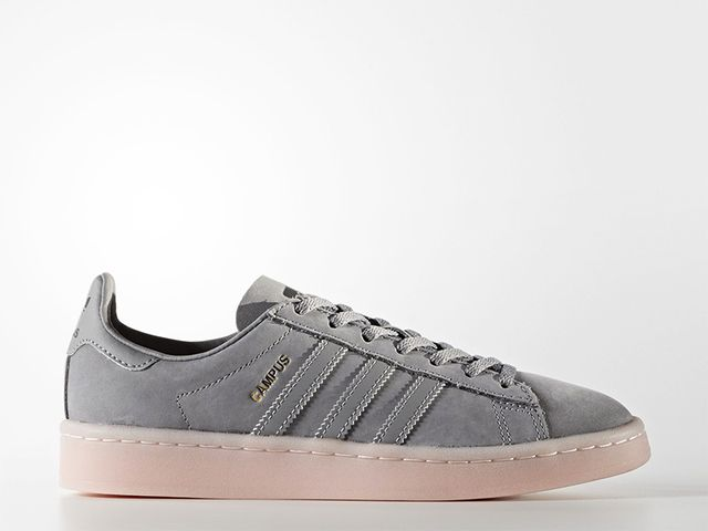 Adidas Originals Campus Shoes in Grey/Grey/Icey Pink