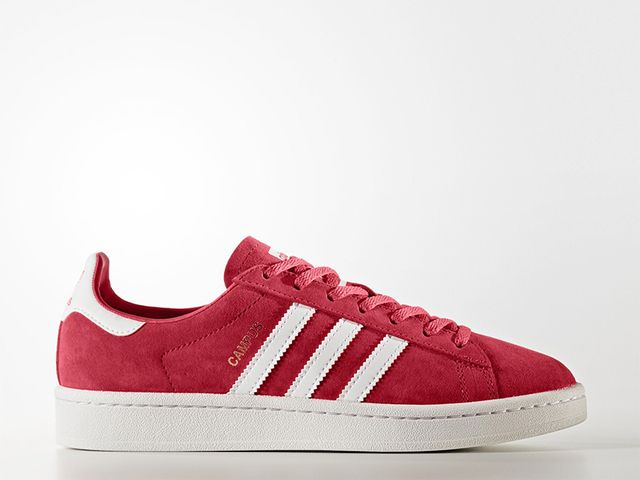 Adidas Originals Campus Shoes in Core Pink/Running White/Crystal White