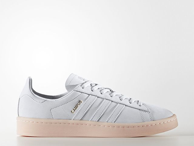 Adidas Originals Campus Shoes in Crystal White/Crystal White