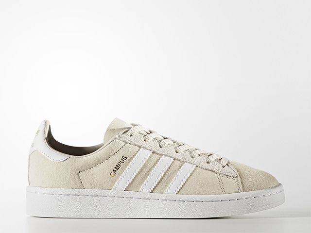 Adidas Originals Campus Shoes in Clear Brown/Running White/Crystal White