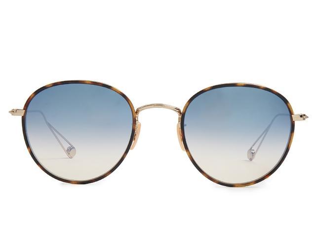 Garrett Leight Round Sunglasses