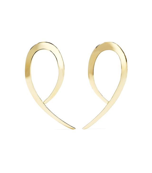 Justine Clenquet x Opening Ceremony Eddie Two Hoop Earring