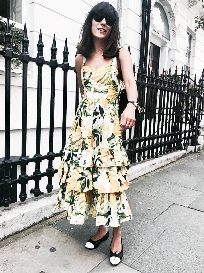 H&M Lemon print dress: Katherine Ormerod