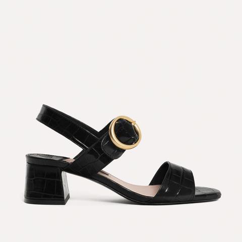 Morocco Studded Heel Sandal