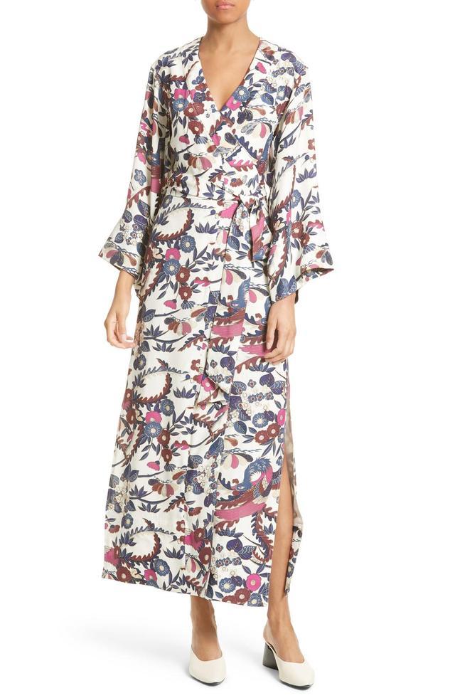 Women's Elizabeth And James Howe Kimono Wrap Dress