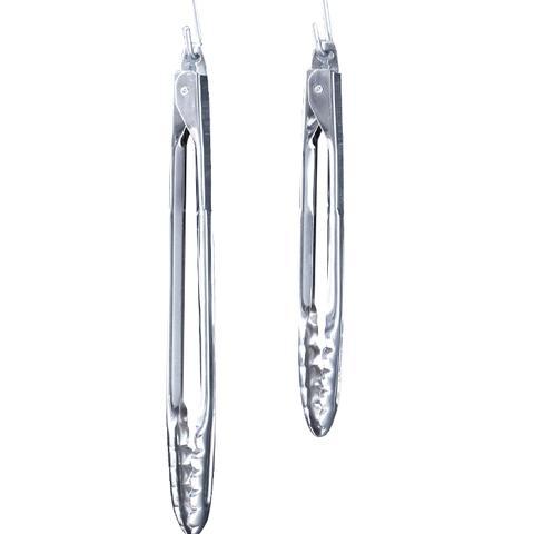 Open Kitchen Stainless-Steel Tongs