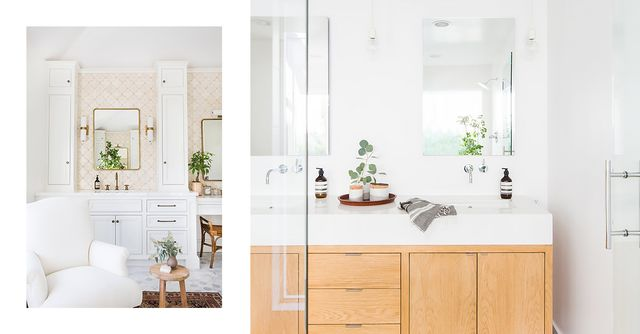 The Property Brothers' Bathroom Ideas on a Budget | MyDomaine