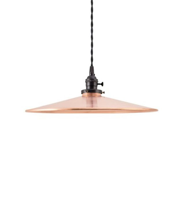 Barn Light Electric Circle B Industrial Copper Pendant