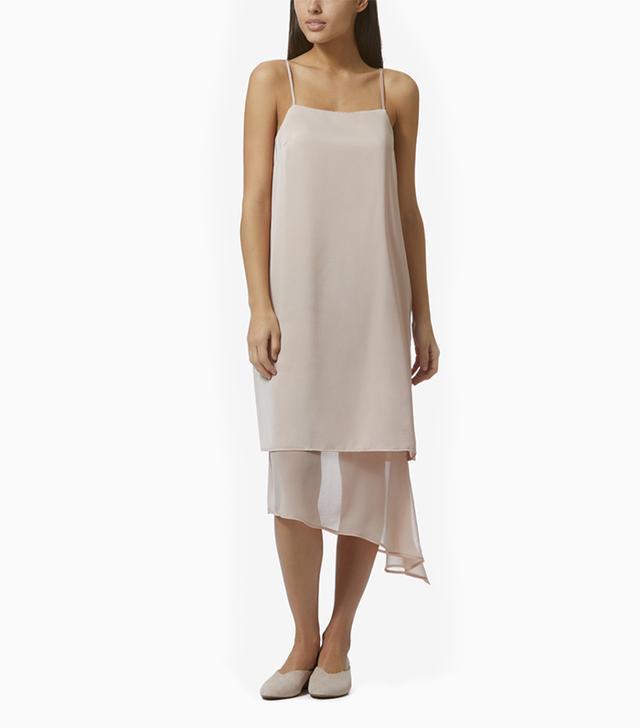 Avec Les Filles Layered Slip Dress
