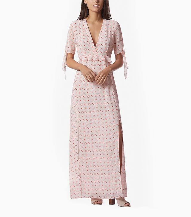 Avec Les Filles Constellation Maxi Dress