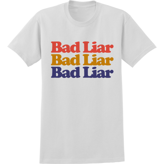 Selena Gomez Bad Liar White T-Shirt