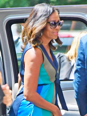 Michelle Obama Just Wore the #1 Most Flattering Shoe Style