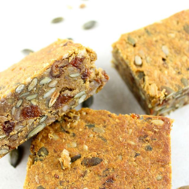 Sugar-free Snacks: Pollen & Grace Sweet Potato & Peanut Butter Flapjack