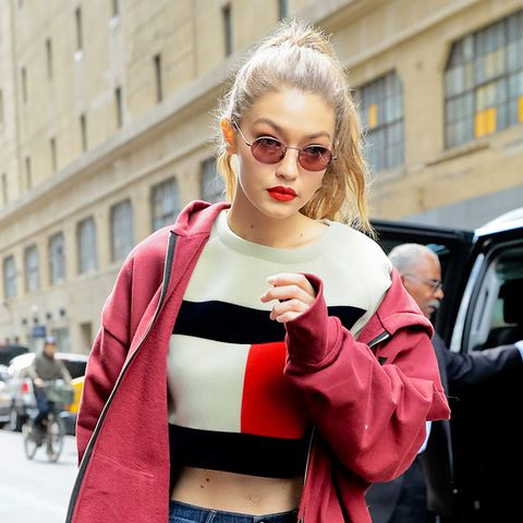 The Trendy Sunglasses Bella and Gigi Can't Stop Wearing