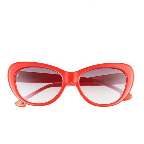 Ludlow 53MM Gradient Lens Cat Eye Sunglasses