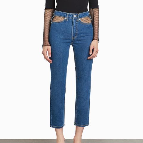 Stevie Cut Out Pocket Jeans
