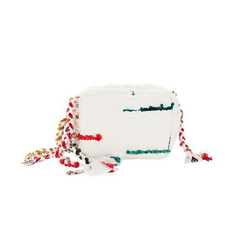 Lachesis Woven Crossbody Bag