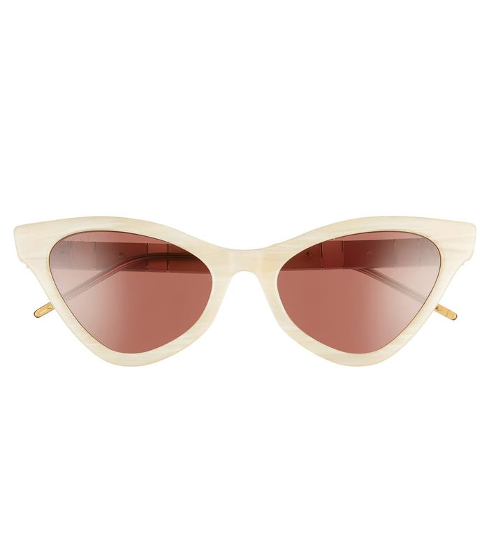 GUCCI 55mm Cat Eye Sunglasses