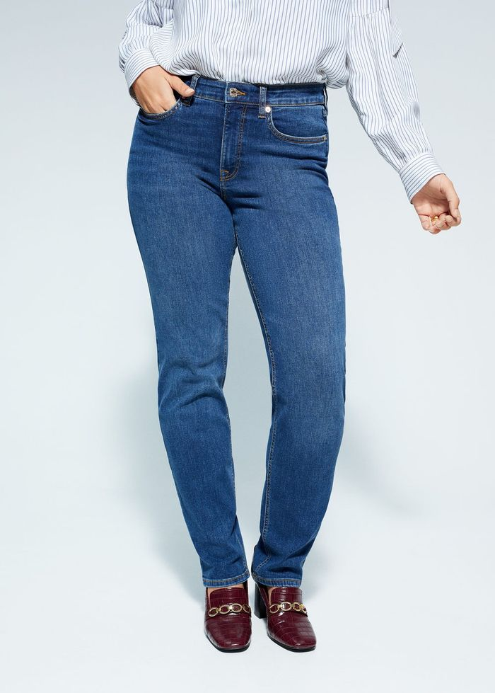 Mango Straight-Fit Theresa Jeans