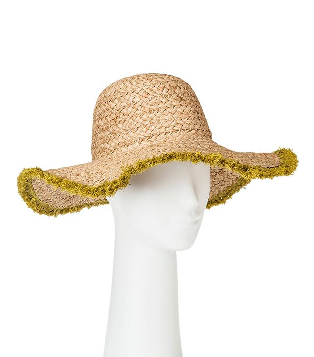 Who What Wear Collection Fringed Straw Hat