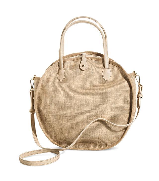 Women's Weave Circle Bag