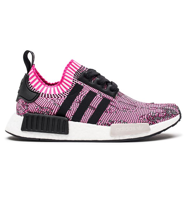 Adidas Originals NMD R1 Sneakers in Shock Pink/Core Black/Running White