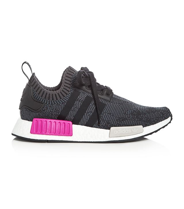 Women's Nmd R1 Knit Lace Up Sneakers
