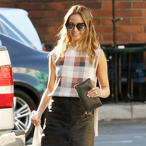 The Shoes Celebrities Wear With Miniskirts