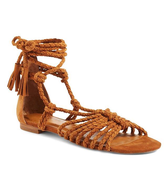 Falk Ankle Wrap Sandal