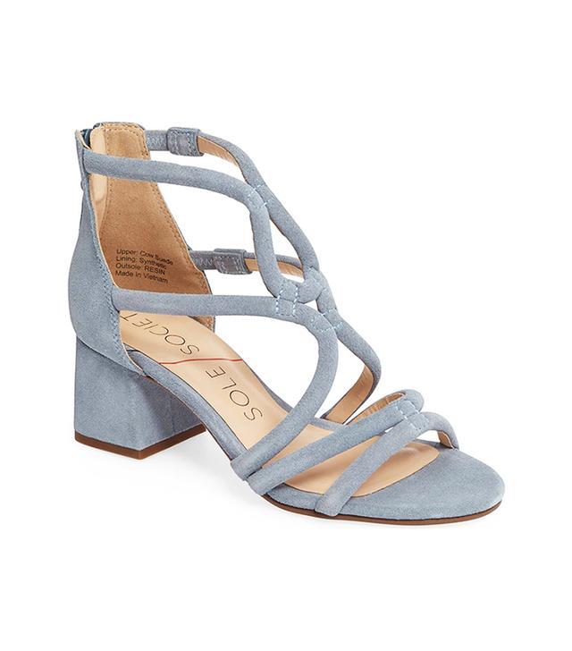Jenina Block Heel Sandal