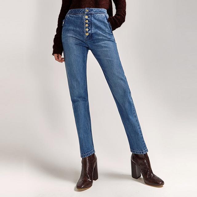 Ellery Monroe High Waist Classic Jean