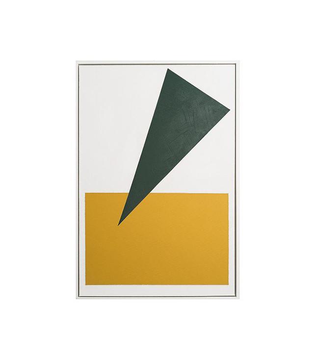 Anna Ullman Emerald and Mustard Shape