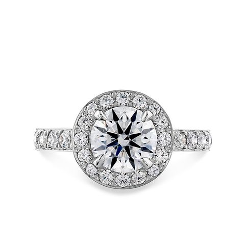 Illustrious Halo Engagement Ring