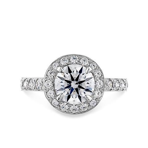 Illustrious Halo Engagement Ring